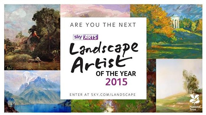 Sky Arts Landscape Artist of the Year 2015: Applications Now Open