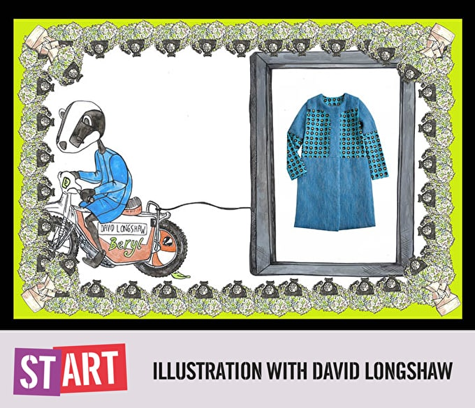 Start: Illustration with budding designer David Longshaw