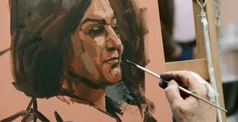 EXCLUSIVE INTERVIEW WITH HEAT 8 WINNER OF SKY ARTS PORTRAIT ARTIST OF THE YEAR