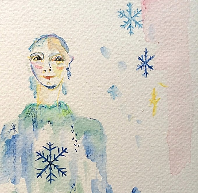 How To: Make a Christmas Fashion Illustration