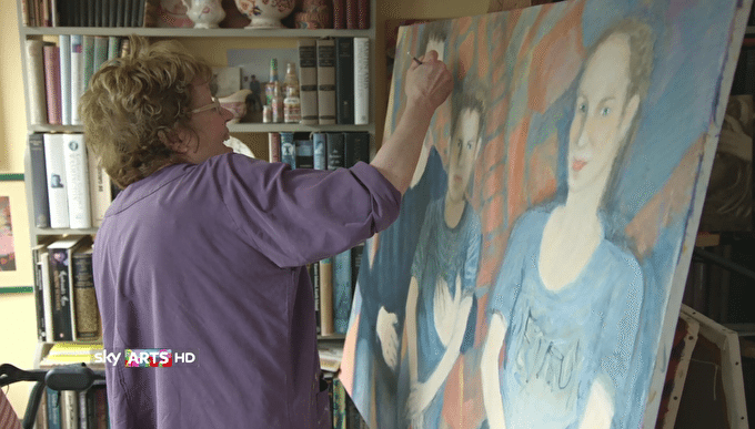 Painting The Johnsons: Sky Arts Documentary on Charlotte Johnson, painter and mother of Boris