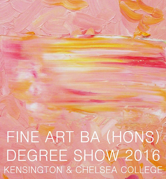 #DegreeShowSpotlight: Kensington & Chelsea College Fine Art
