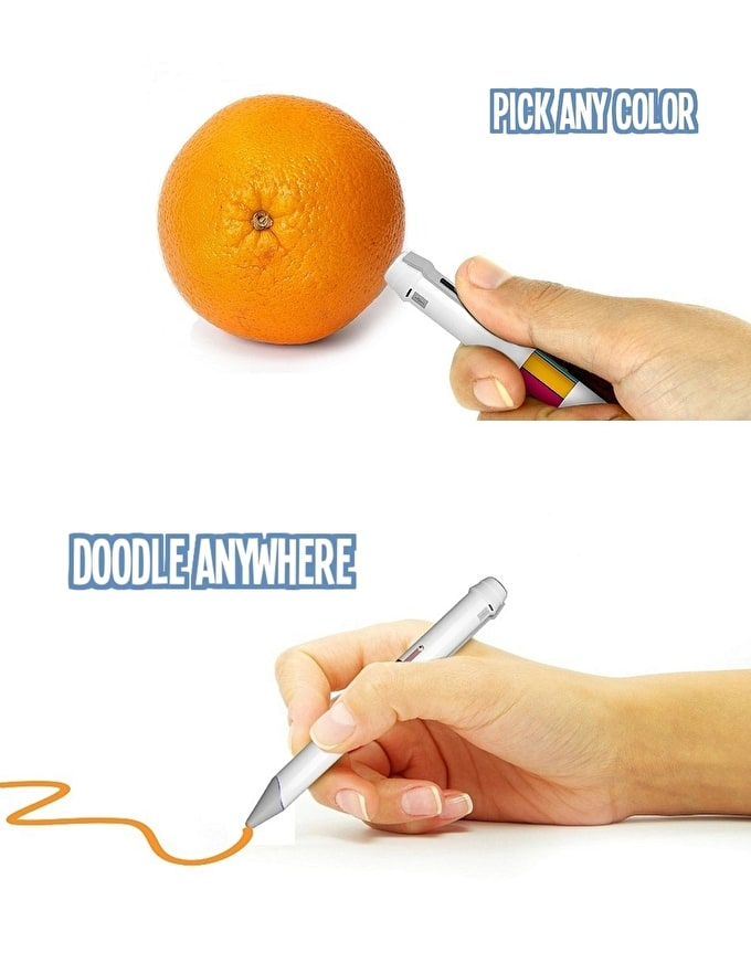 Ground-breaking Colour Technology: Scribble Pen