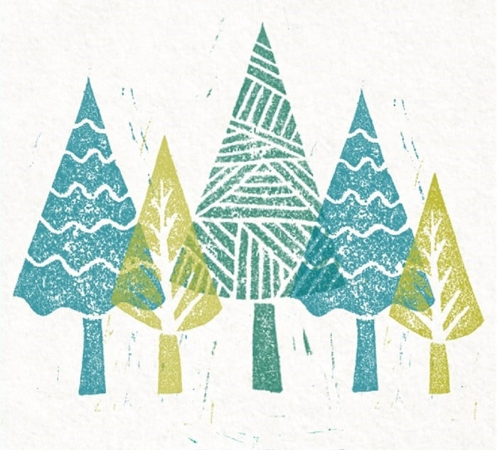 christmas how to create your own lino cut cass art
