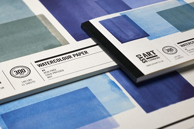 Introducing our Watercolour Paper Range