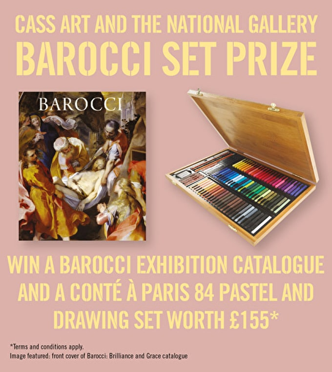 Cass Art and the National Gallery Barocci Competition