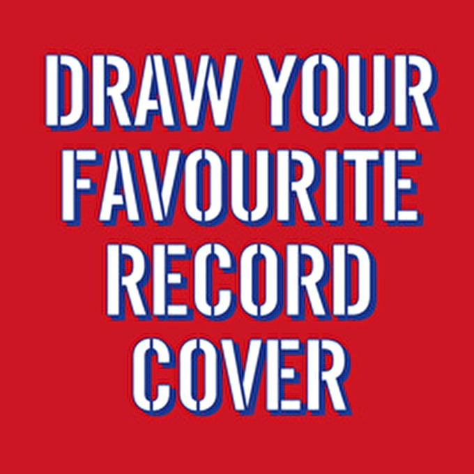 Past event: Draw your favourite record cover for Record Store Day