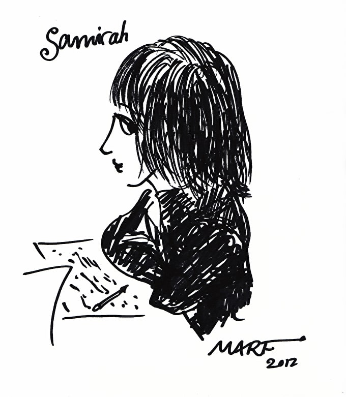 Past Event: How to draw portraits with cartoonist Marf at Islington