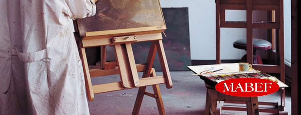 Mabef have been producing high-quality artist's easels and accessories for almost 60 years.