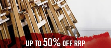 Use the excuse of Sale to start painting on canvas supported by some of the best easels in the industry.