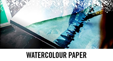 From Cold pressed, Hot and Rough watercolour paper - we stock these art supplies online and in store UK wide.