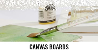 Canvas Boards are light and transportable, perfect for plein air painting.