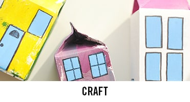 From moulding clay to printing with fruit, we've got crafts to keep any kid busy through the half term or summer holidays.
