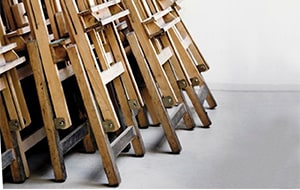 At Cass Art, we have easels for studios to travel easels, table easels to wooden easels available for delivery straight to your door.