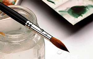 We have sable, hog and synthetic brushes for all painting mediums online and in our art material stores.