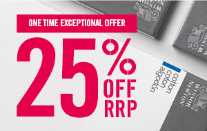 25% off RRP on Winsor & Newton Canvas for a limited time only
