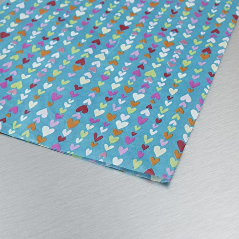 Decopatch Paper Small Hearts 30 x 40cm