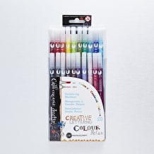 Manuscript Double Tip Marker Pens Set of 20