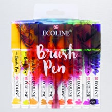 Ecoline Watercolour Brush Pen Set of 20