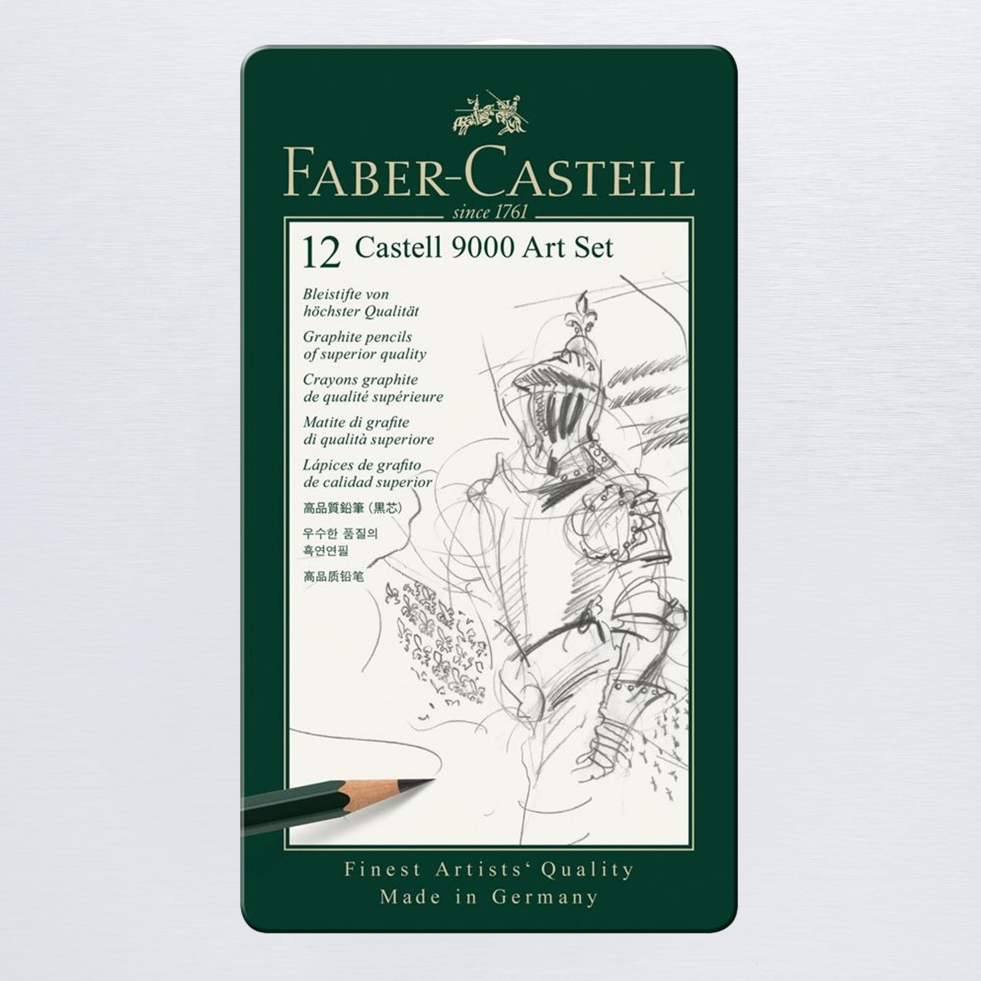 Faber-Castell 9000 Pencil Art Set of 12 | Sketching ...