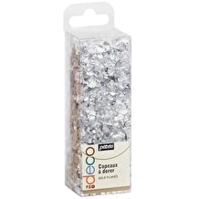 Pebeo Gedeo Silver Flakes Silver