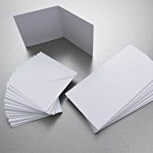 Anita's Square Card and Envelope Pack of 50 White