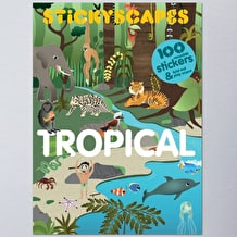 Stickyscapes Tropical by Isabel Thomas