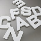 Decopatch Papier Mache Shapes Letters A-Z Small