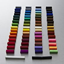 Inscribe Soft Pastel Set of 64 Assorted Colours
