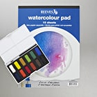 Reeves Oasis Water Colour Box & Pad Cass Art Exclusive Set