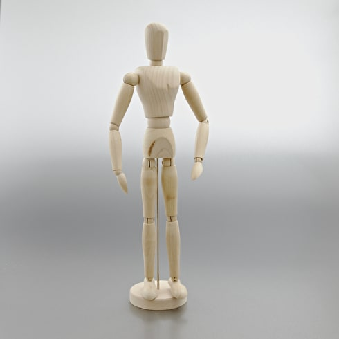 Reeves Oasis Unvarnished Manikin 16 inches
