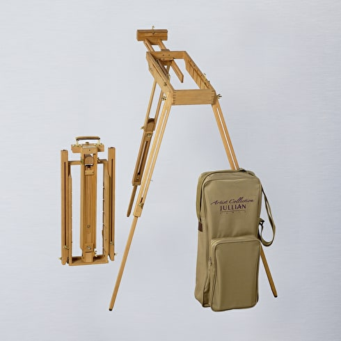 Jullian Oiled Beechwood Watercolour Easel + Carrying Bag