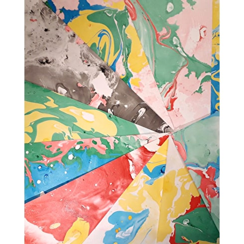 Marbling Workshop at Liverpool Art Fair 28th July 1pm to 2pm