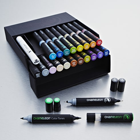 Chameleon Deluxe Box 22-Pen set