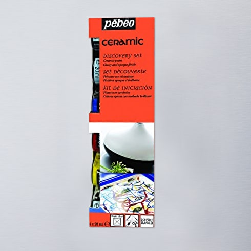 Pebeo Ceramic Discovery Collection 20ml Set of 6
