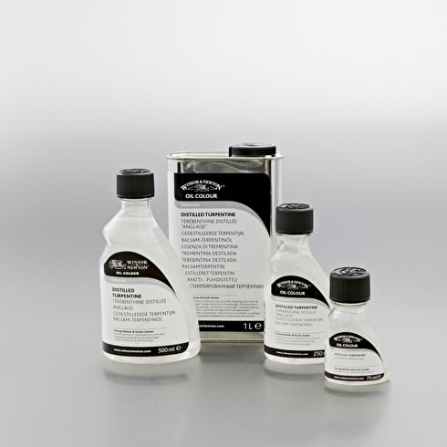 Winsor & Newton Distilled Turpentine | Quality Painting Mediums | Cass Art