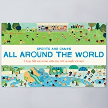 All Around the World Sports and Games by Geraldine Cosneu