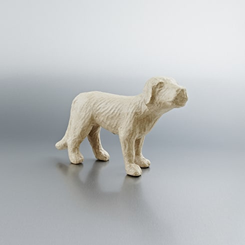 Decopatch Small Papier Mache Animal Dog 27 x 17 x 7cm