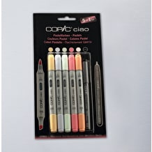 Copic Ciao Markers Pastel Tone Set of 6