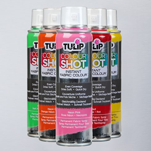 Tulip Colour Shot Aerosol | Fabric Spray Paint | Cass Art