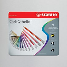 Stabilo CarbOthello in Metal Tin Set of 24 Assorted Colours