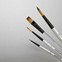 Daler Rowney Graduate Synthetic Watercolour Brush set of 4