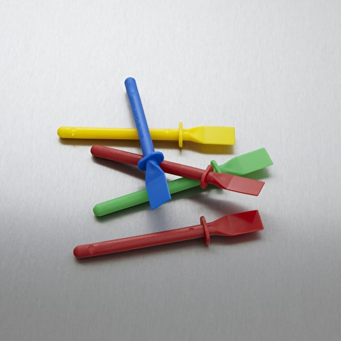 West Glue Spreaders Set of 5 Assorted Colours
