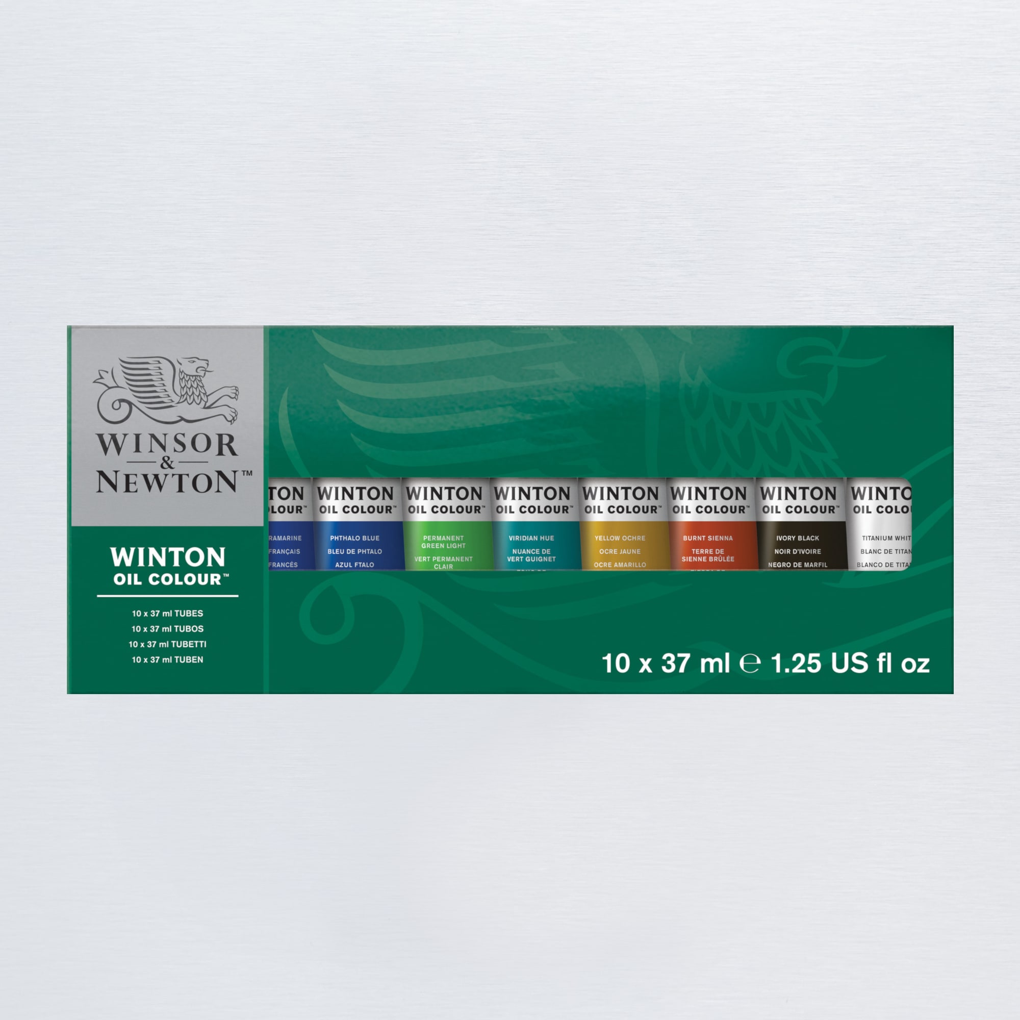 Winsor & Newton Winton Tube Assorted Colours 37ml Set of 10 | Oil ...
