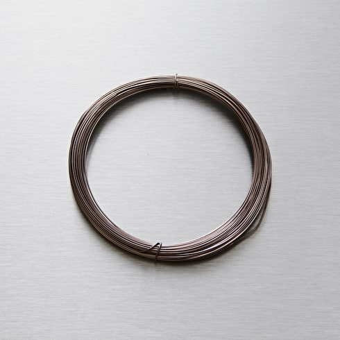 Seawhite Jewellery Wire 0.7mm x 15m Gun Metal | Craft Wire | Cass Art