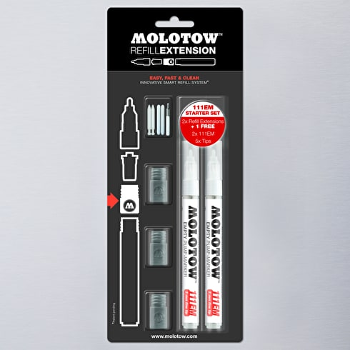 Molotow Refill Extension Starter Set