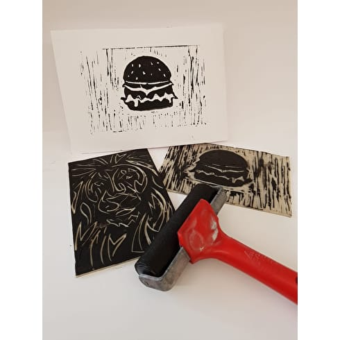Lino cutting workshop  at Liverpool Art Fair 25th August 1pm to 2pm