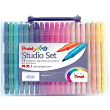 Pentel Arts Studio Set of 40