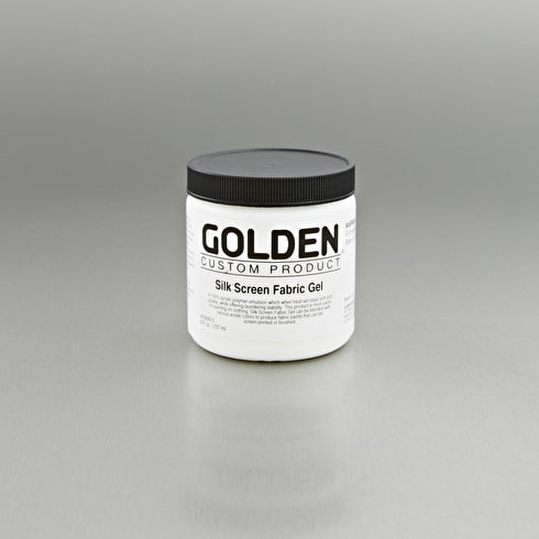 Golden Silk Screen Fabric Gel