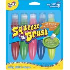 Galt Squeeze & Brush Glitter Set of 5 Assorted Colours